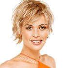 Styles for short hair cuts