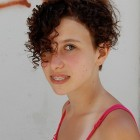 Super short curly hairstyles for women