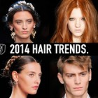 Trends in hairstyles 2014