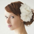 Wedding flower hair pieces