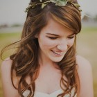 Wedding hair curls