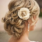 Wedding hair medium length