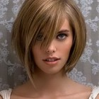 Woman short haircut