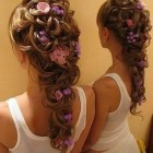 Creative wedding hair