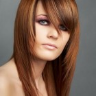 Women layered haircut
