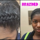 Hairstyles after braids