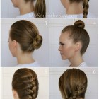 Hairstyles to do with wet hair