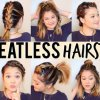10 hairstyles in 5 minutes