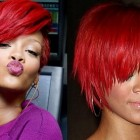Red hairstyles for black women