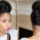 Up hairstyles for black women