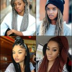 Black braided hairstyles 2017