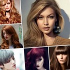 New hairstyle trends for 2017