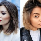 Straight hairstyles 2017