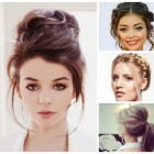 Up hairstyles 2017