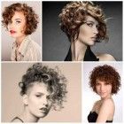 Short curly haircuts 2019