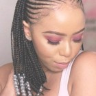 2020 black braided hairstyles