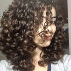 Curly hairstyle 2020