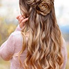 Prom hairstyles down 2020