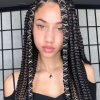 2021 black braided hairstyles