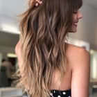 2021 long haircuts for women