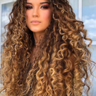 Long curly hairstyles 2021