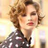 Short haircuts for curly hair 2021