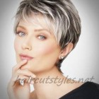 Short hairstyles women over 50 2021