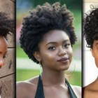 Black female short haircuts 2019
