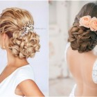 Hairstyle bridesmaid 2019