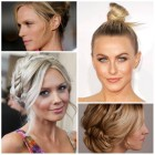 Latest updo hairstyles 2019
