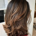 Medium length layered hairstyles 2019