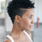 Short hairstyle for black ladies 2019