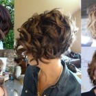 Short hairstyles for wavy hair 2019