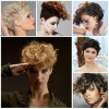 Very short curly hairstyles 2019
