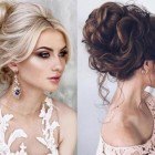 Wedding hair updos 2019