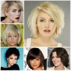 Medium short hairstyles 2016