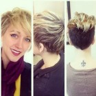 Short hairstyle for 2016