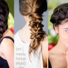Braided hair for long hair