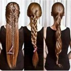 Braids for long thick hair