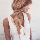 Cool plaits for long hair