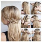 Cute hair braid ideas