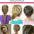 Different french braids