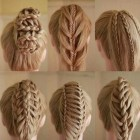 Different kinds of braids for long hair