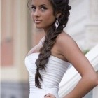 One long braid hairstyles