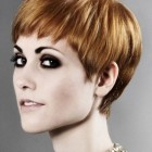 Pixie cut with short fringe