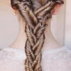 Plaits for long hair