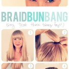 Quick easy braided hairstyles