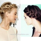 Simple braided updos