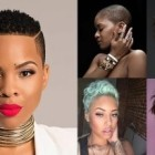 Black short haircuts for women 2018