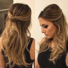 Down prom hairstyles 2018